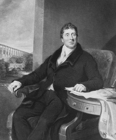Thomas Telford portrait.