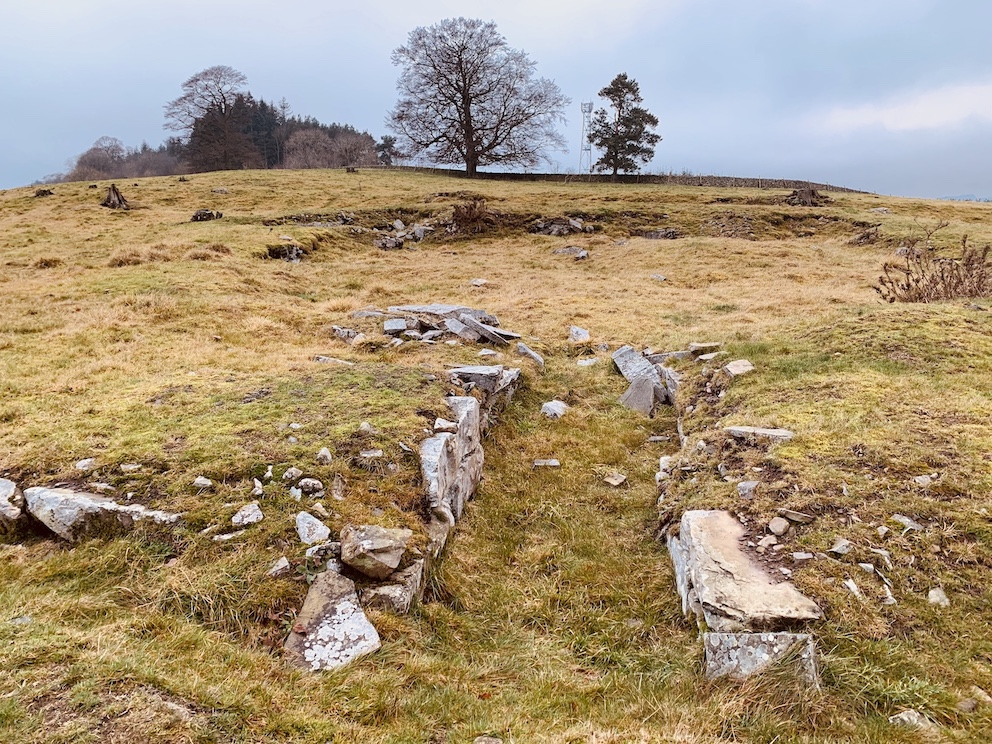 Torwoodlee Broch The Scottish Borders.