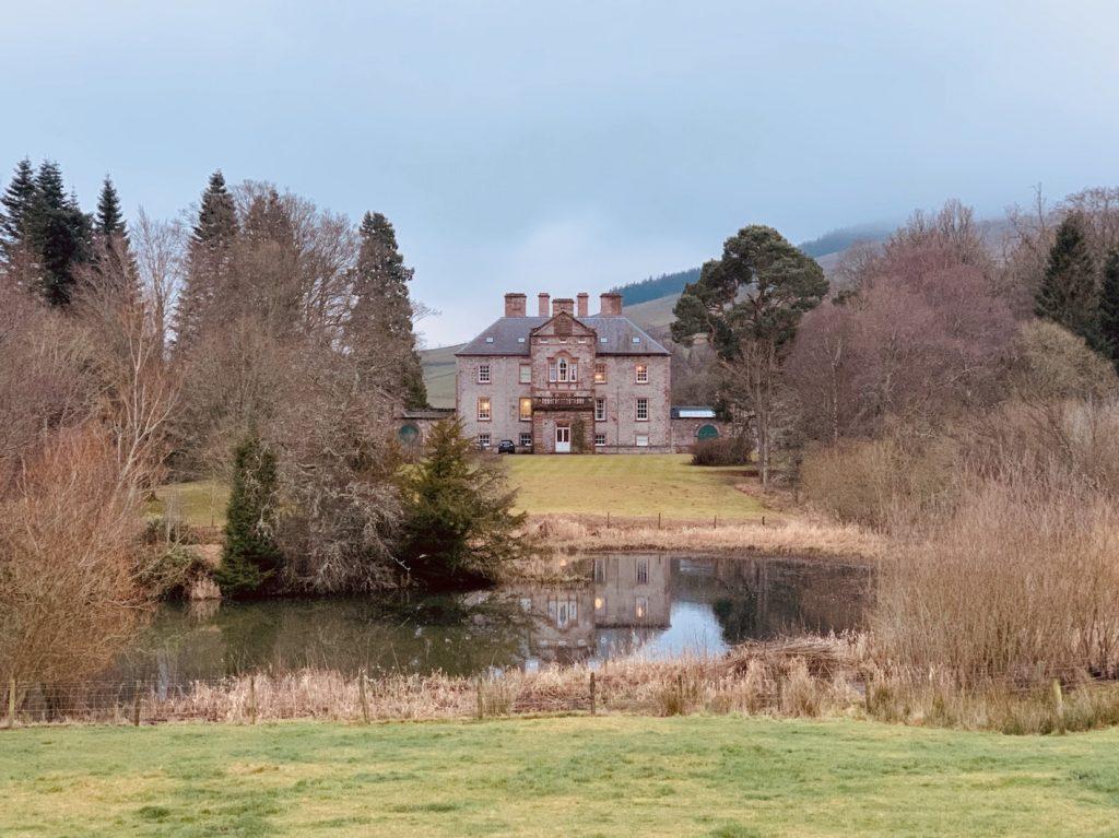 Torwoodlee House Galashiels Scotland.