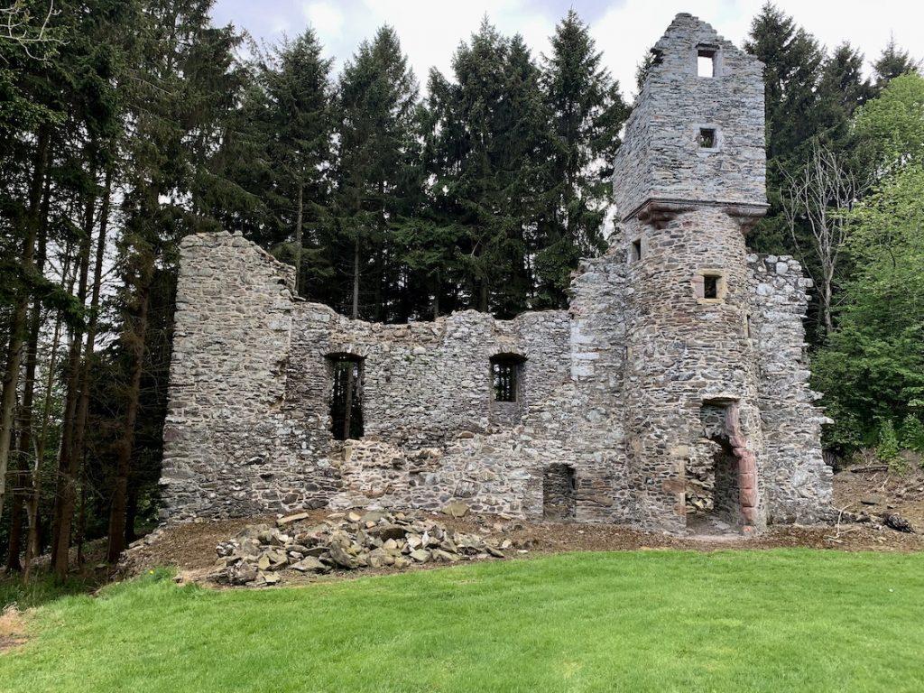 Torwoodlee Tower Galashiels Scotland.