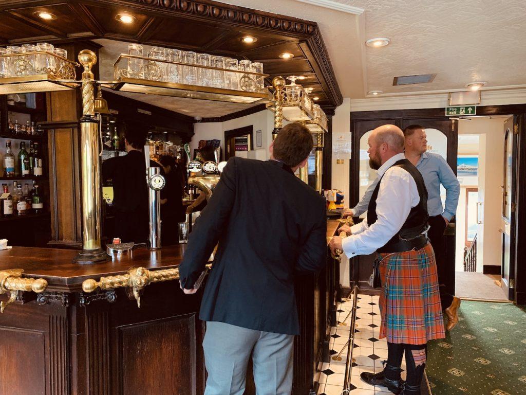 Upper Deck Lounge Bar The Moorings Hotel Banavie.