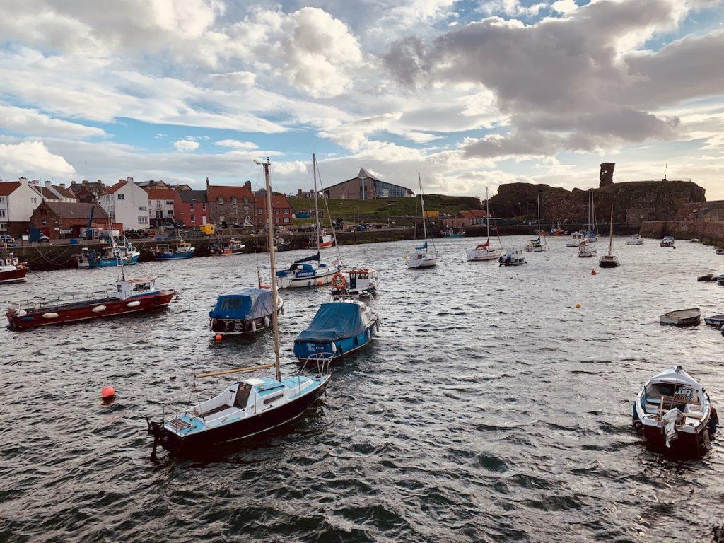 Victoria Harbour Dunbar Scotland.