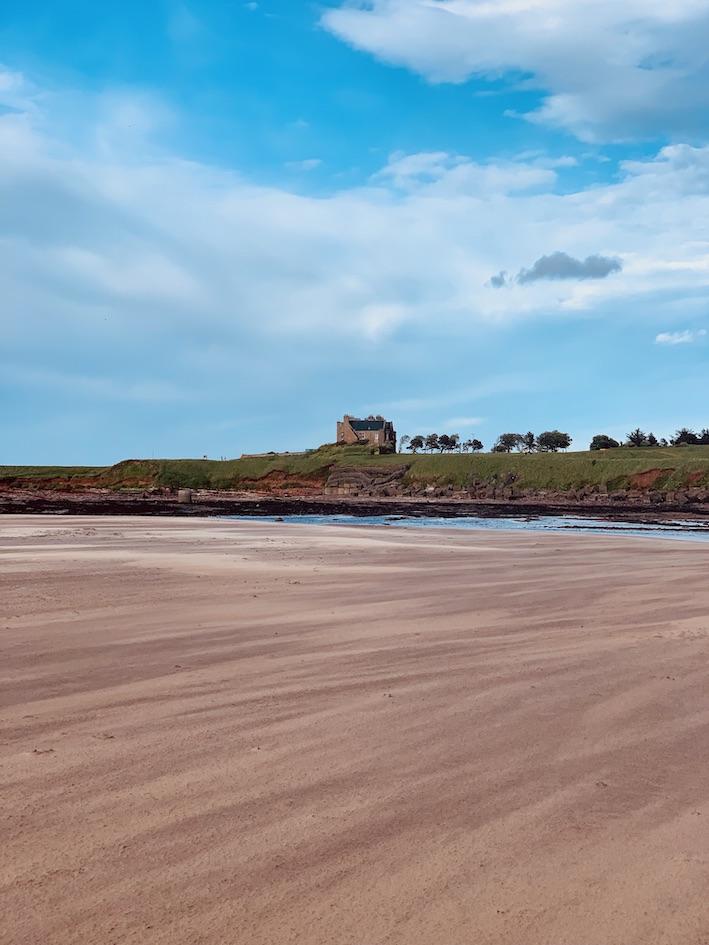 Visit Belhaven Beach Dunbar Scotland.