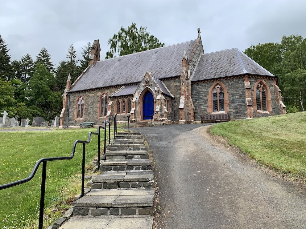 Visit Caddonfoot Parish Church Galashiels Scotland.