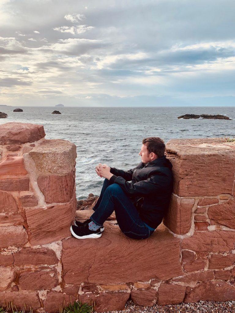 Visit Dunbar Battery East Lothian Scotland.