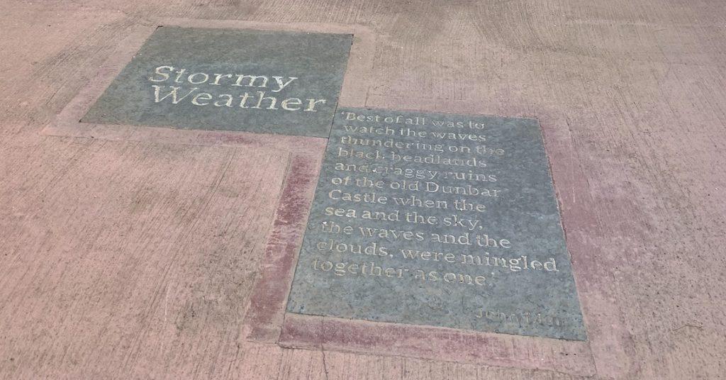 Visit Dunbar Battery Scotland.