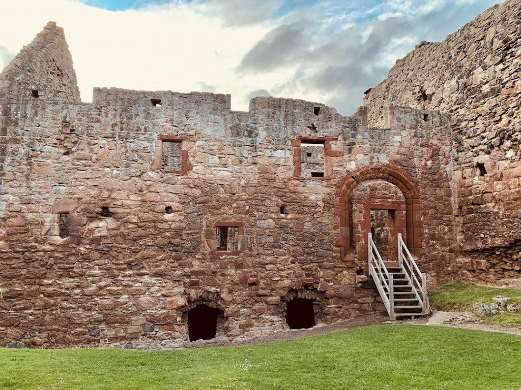 Visit Hailes Castle Scotland.