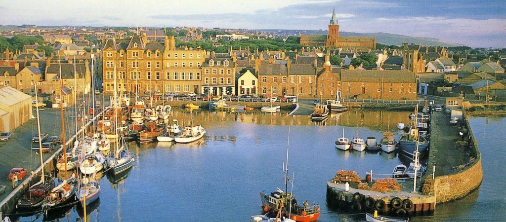 Visit Kirkwall Orkney Scotland.