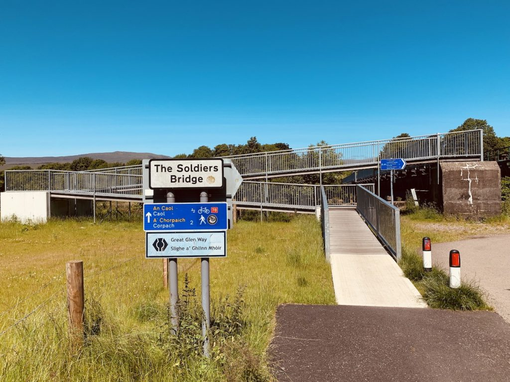 Visit Soldiers Bridge Fort William.
