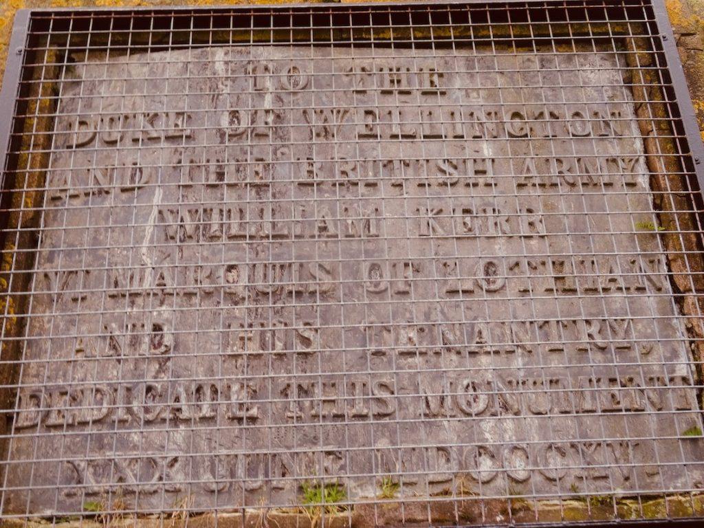 Visit The Waterloo Monument Scotland.
