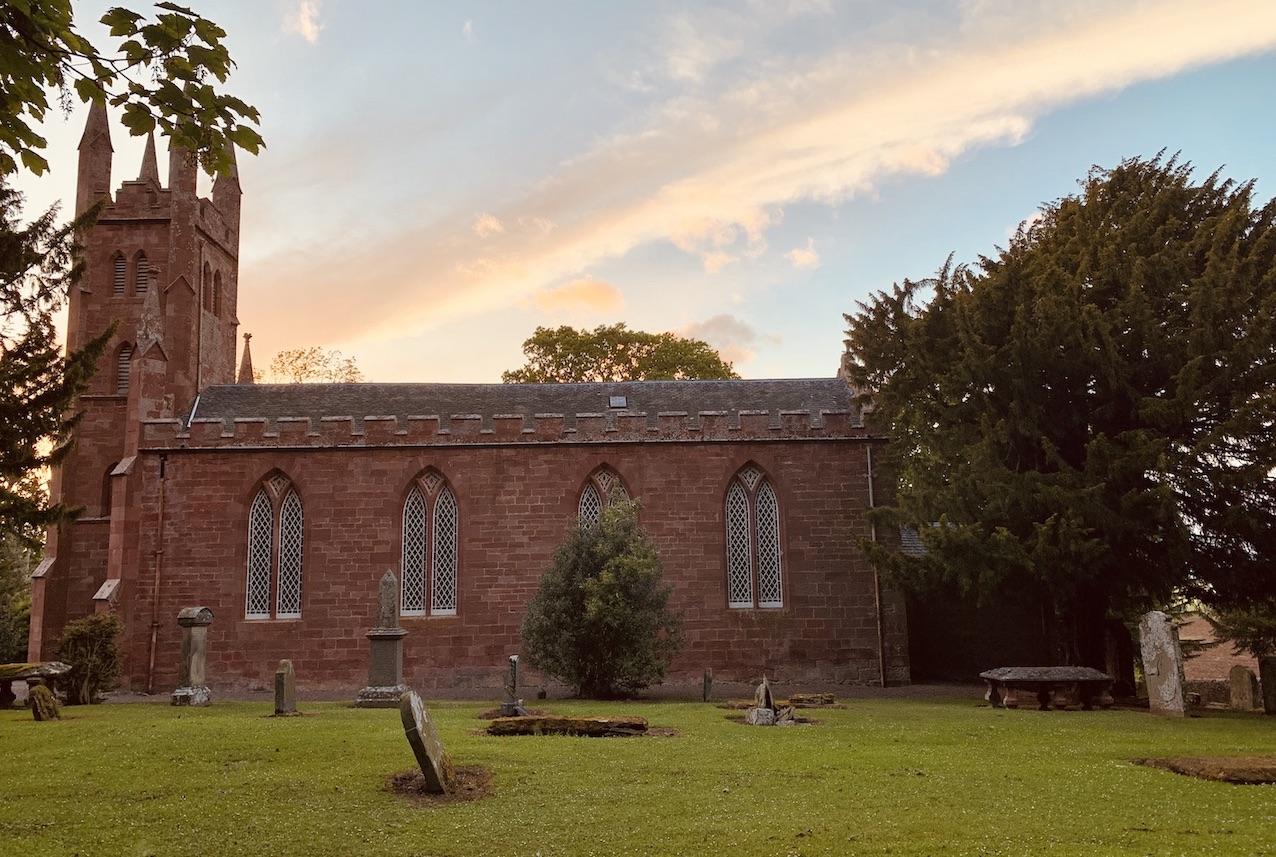 Whittingehame Church East Lothian Scotland.