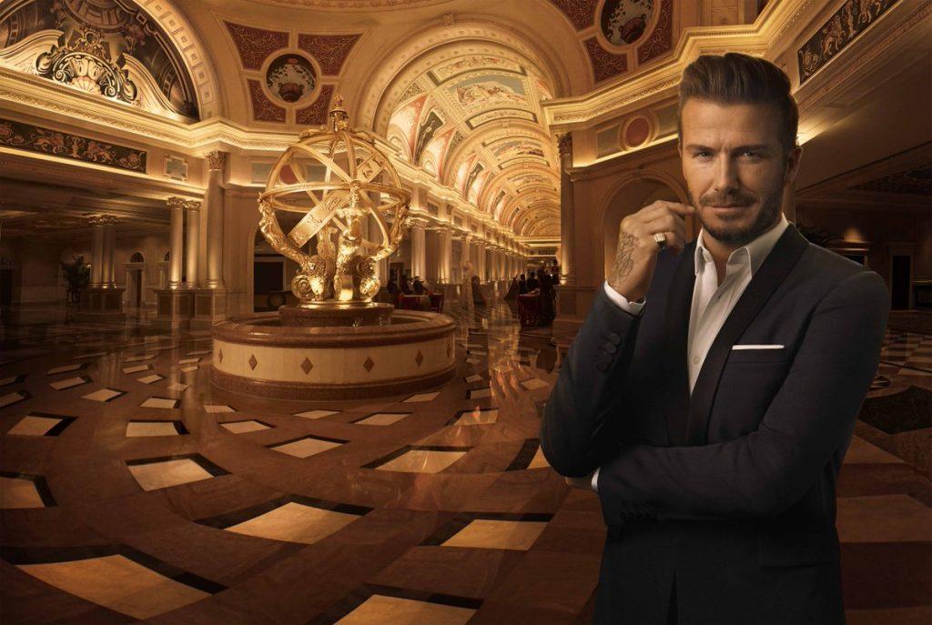 David Beckham Venetian Macau.