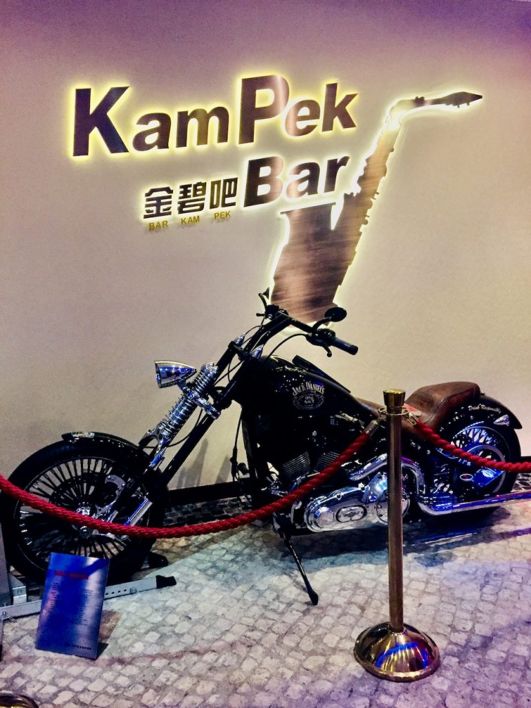 Jack Daniels Harley Davidson Chopper Macau.