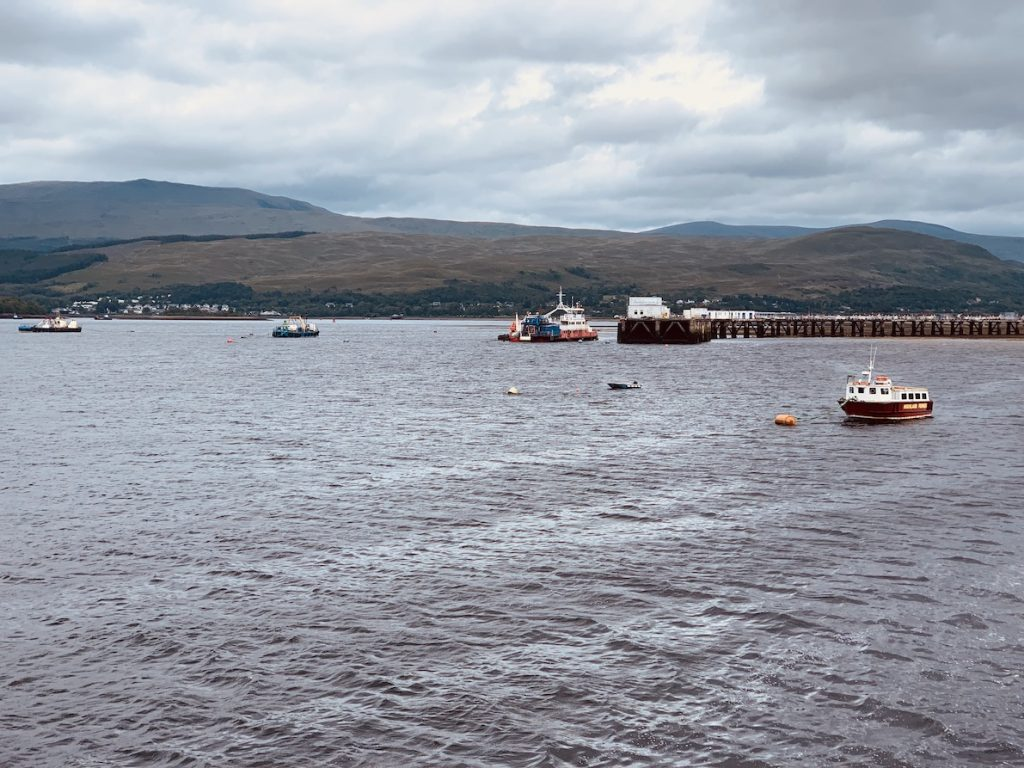 Loch Linnhe Fort William.