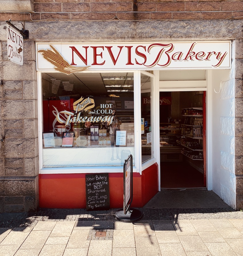 Nevis Bakery Fort William.