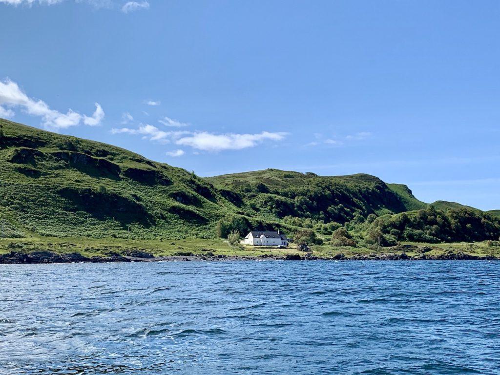 A beautiful house on Oban Bay Scotland.