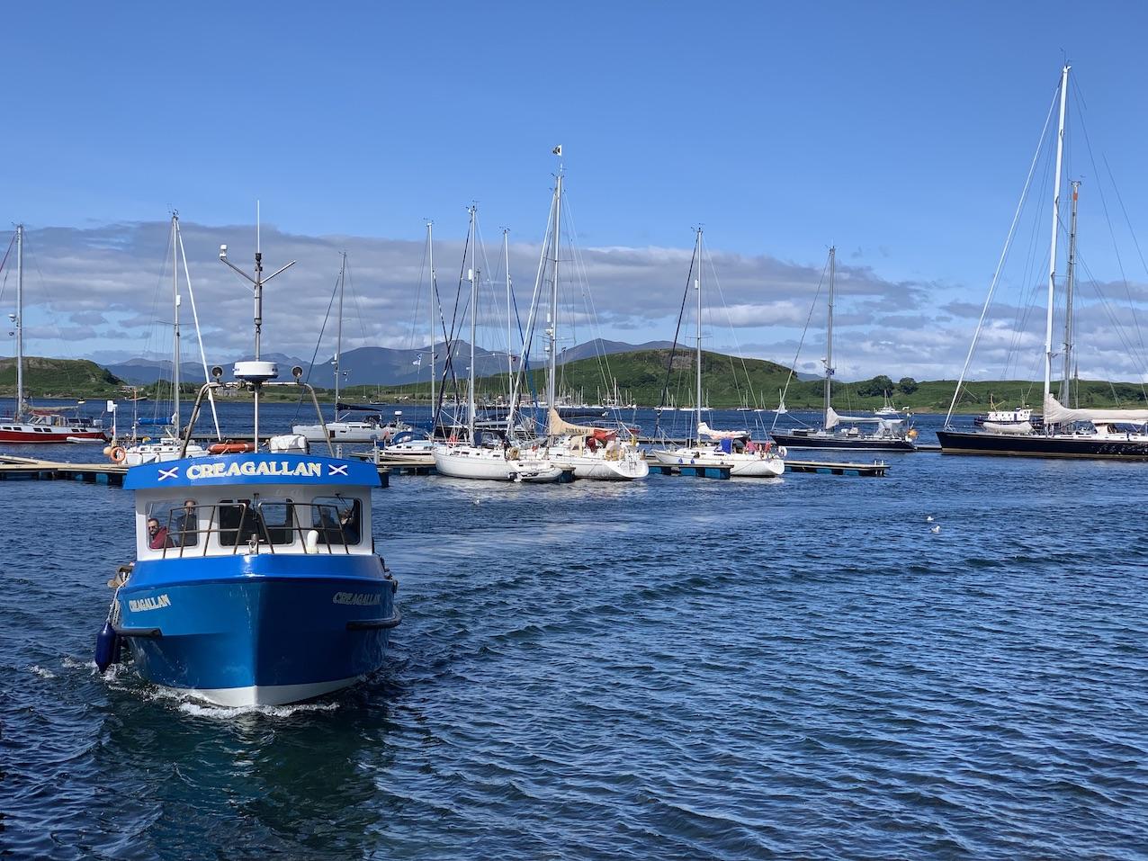 Argyll Sea Tours Oban Scotland.