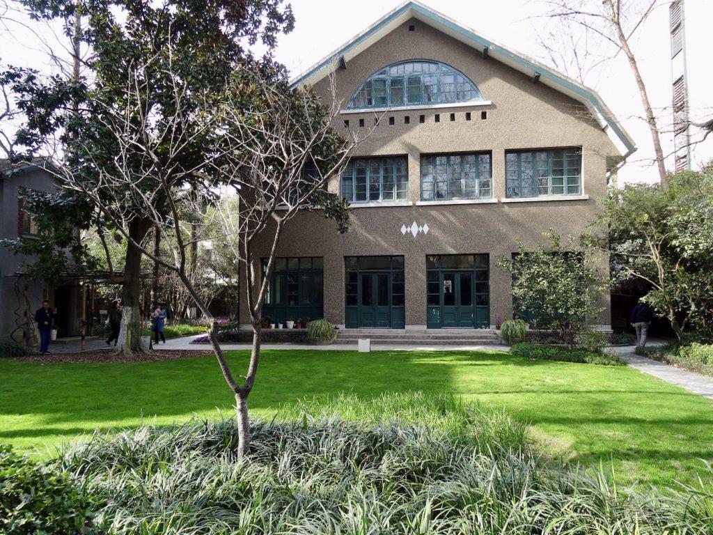 Ba Jin House French Concession Shanghai.