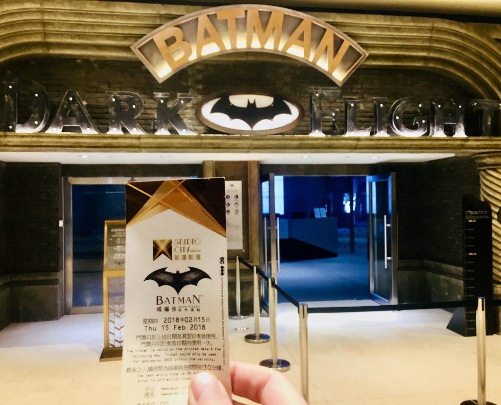 Batman Dark Flight Studio City Macau