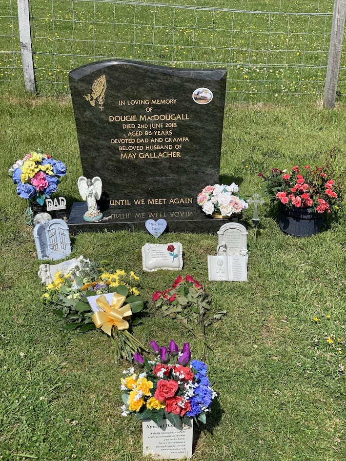 Beautiful grave Beoraid Cemetery Morar