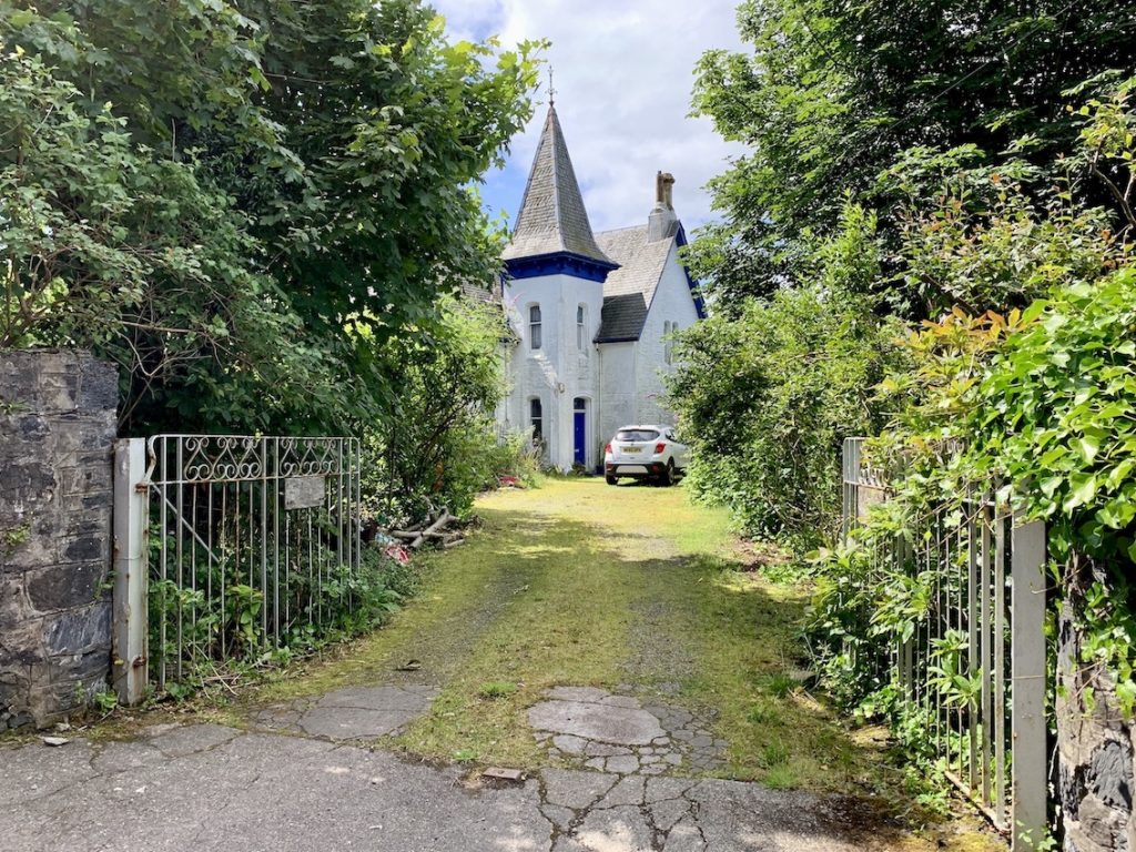 Beautiful house Duncraggan Road Oban.