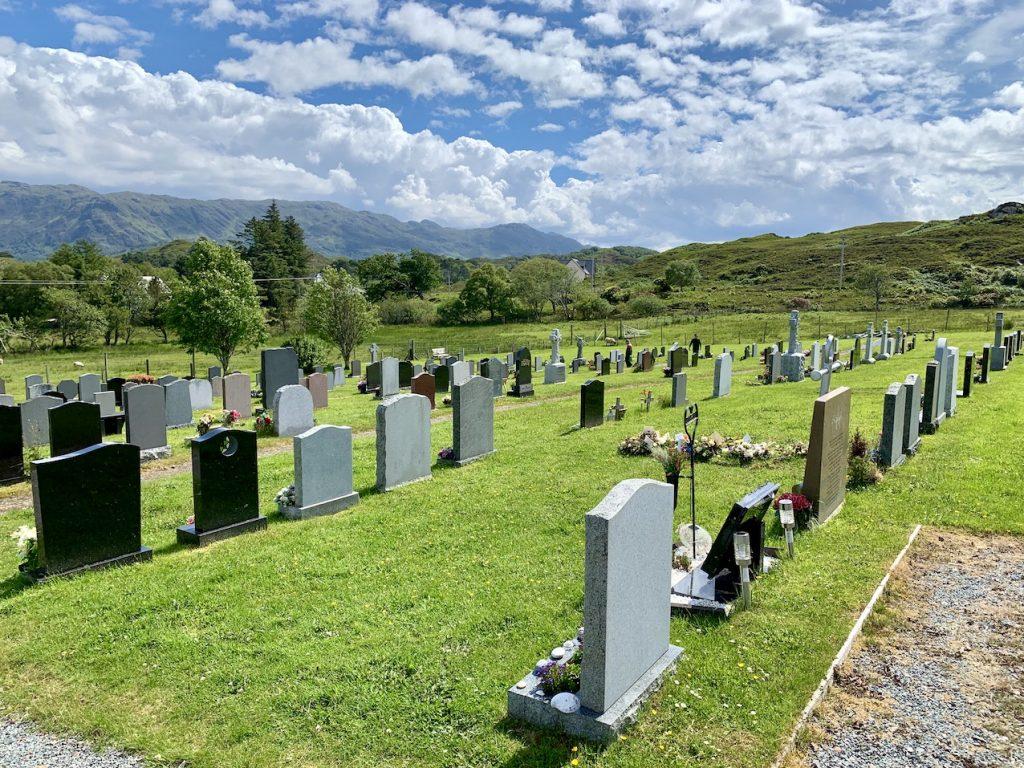 Beoraid Cemetery Morar.