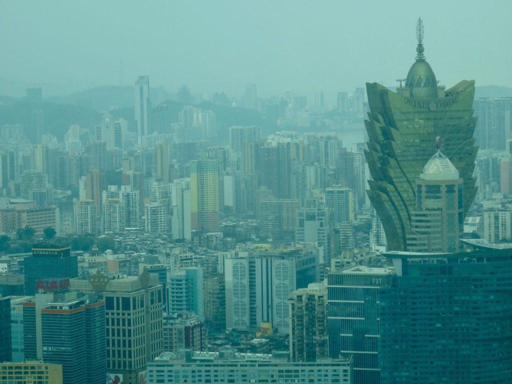 City views from Macau Tower.