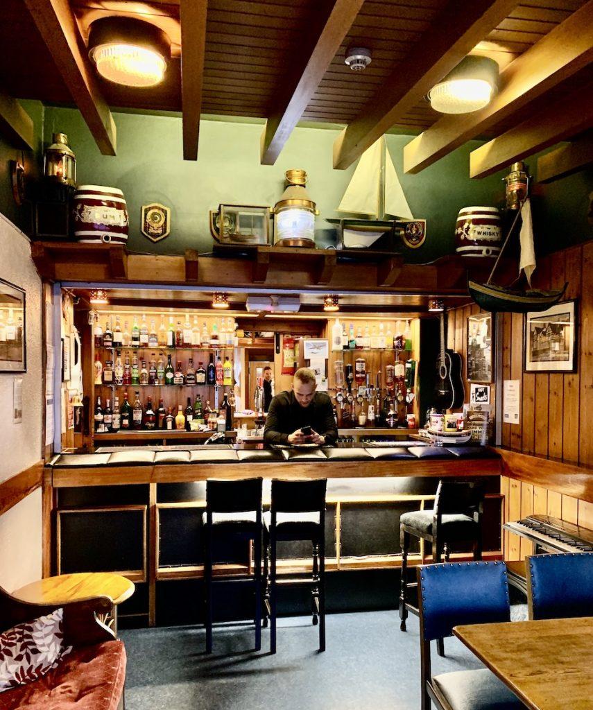 Cocktail Bar The Lancaster Hotel Oban.
