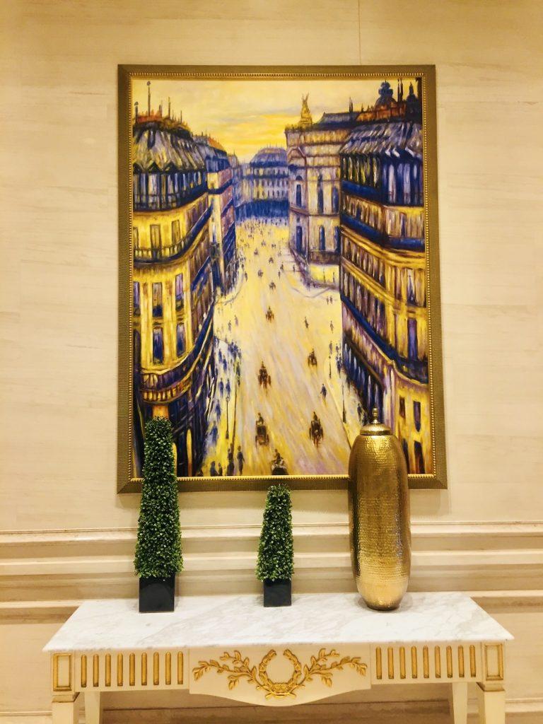 Corridor art The Parisian Macau.