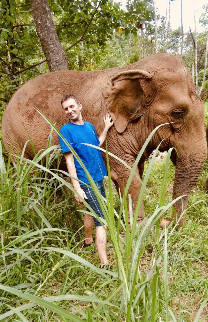 Elephant Nature Park Chiang Mai Thailand.