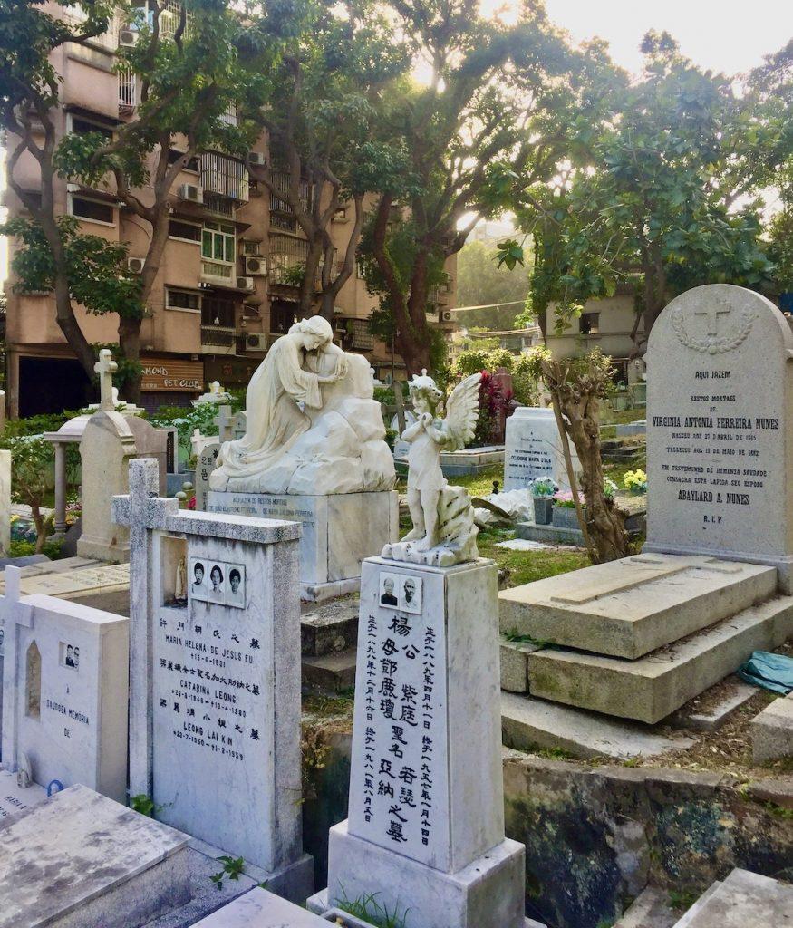 Graveyard Saint Michael's Chapel & Cemetery Macau.