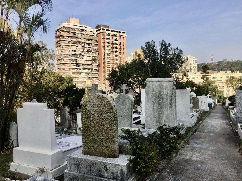 Graveyard St Michael's Chapel & Cemetery Macau.