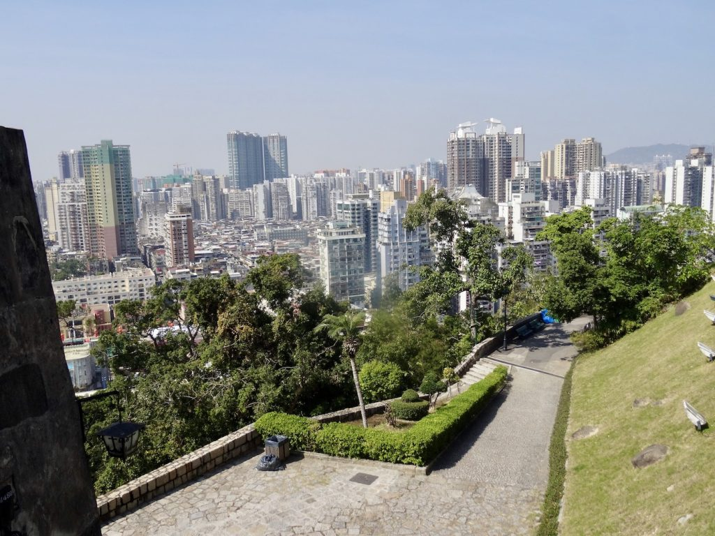 Guia Hill Fortress Macau.