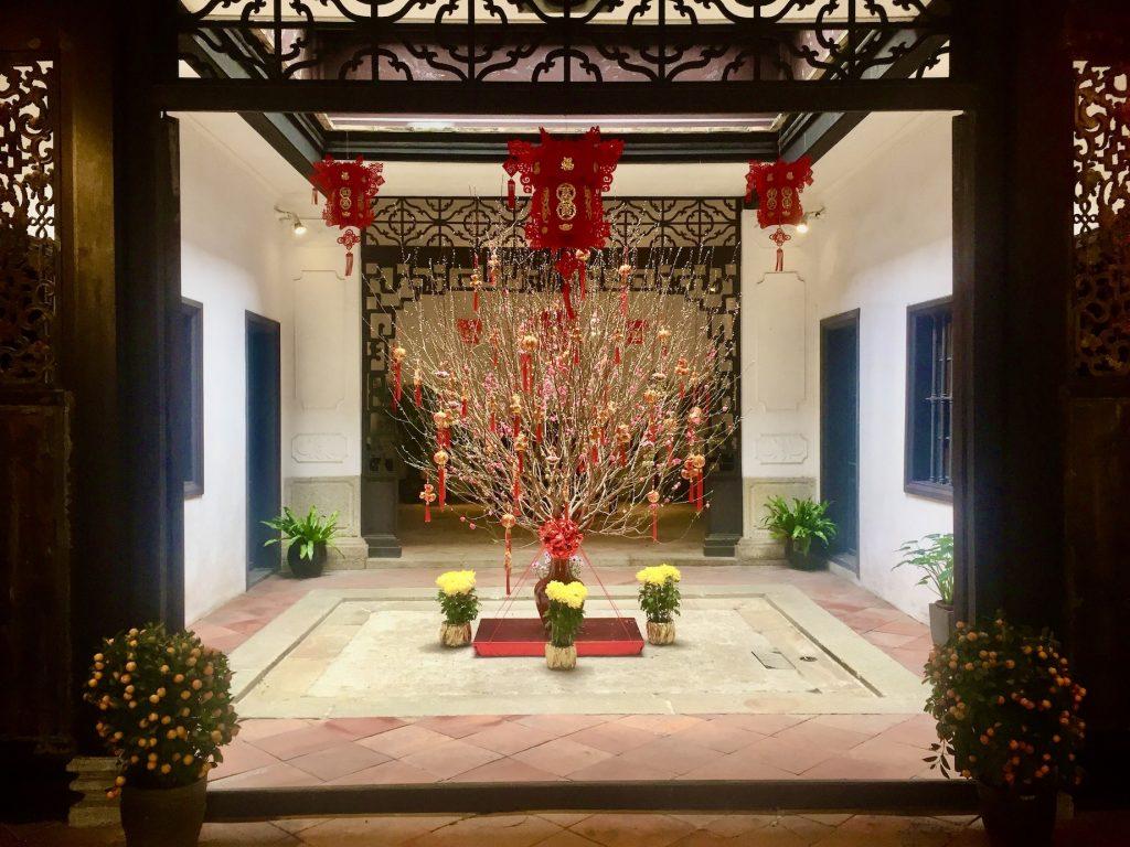 Inside Mandarin's House Macau.
