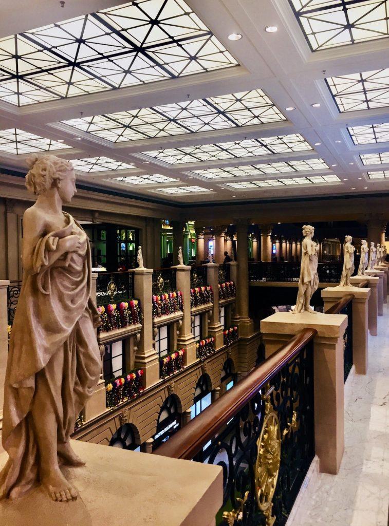 Inside The Parisian Hotel Macau.