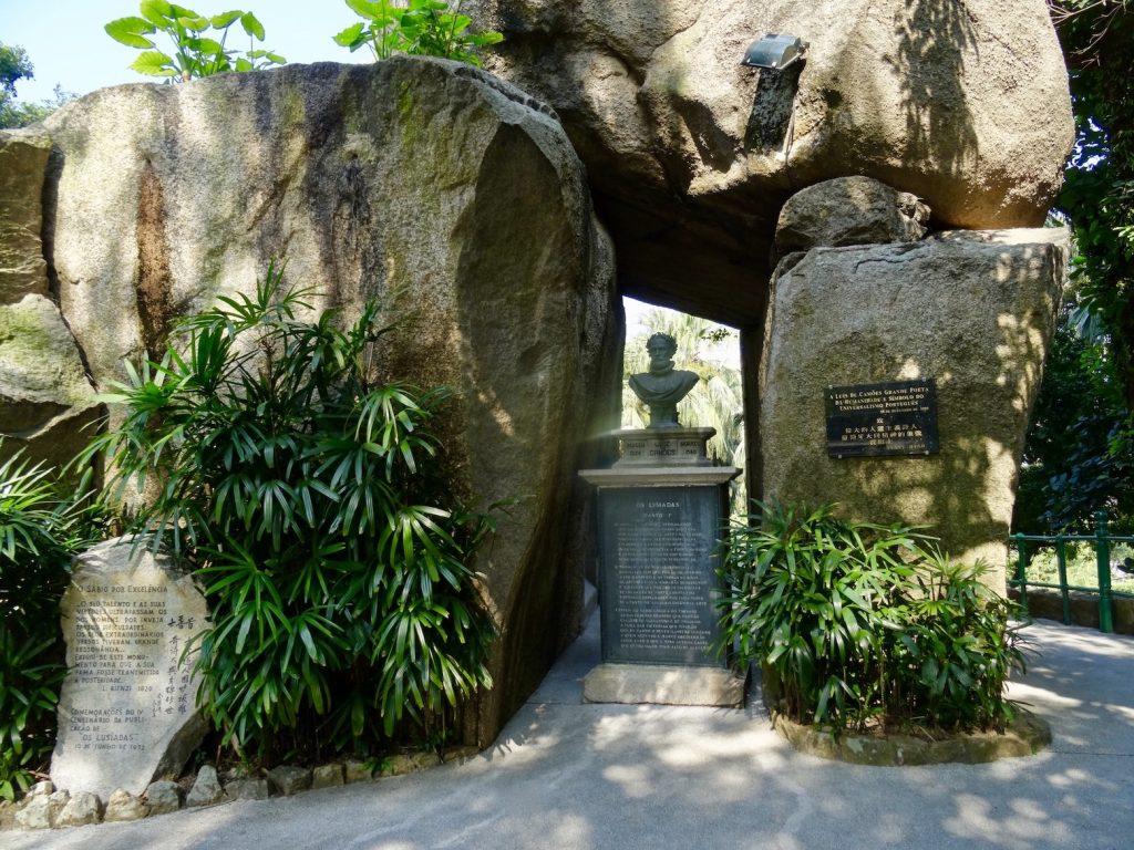 Luis de Camoes Grotto Macau.