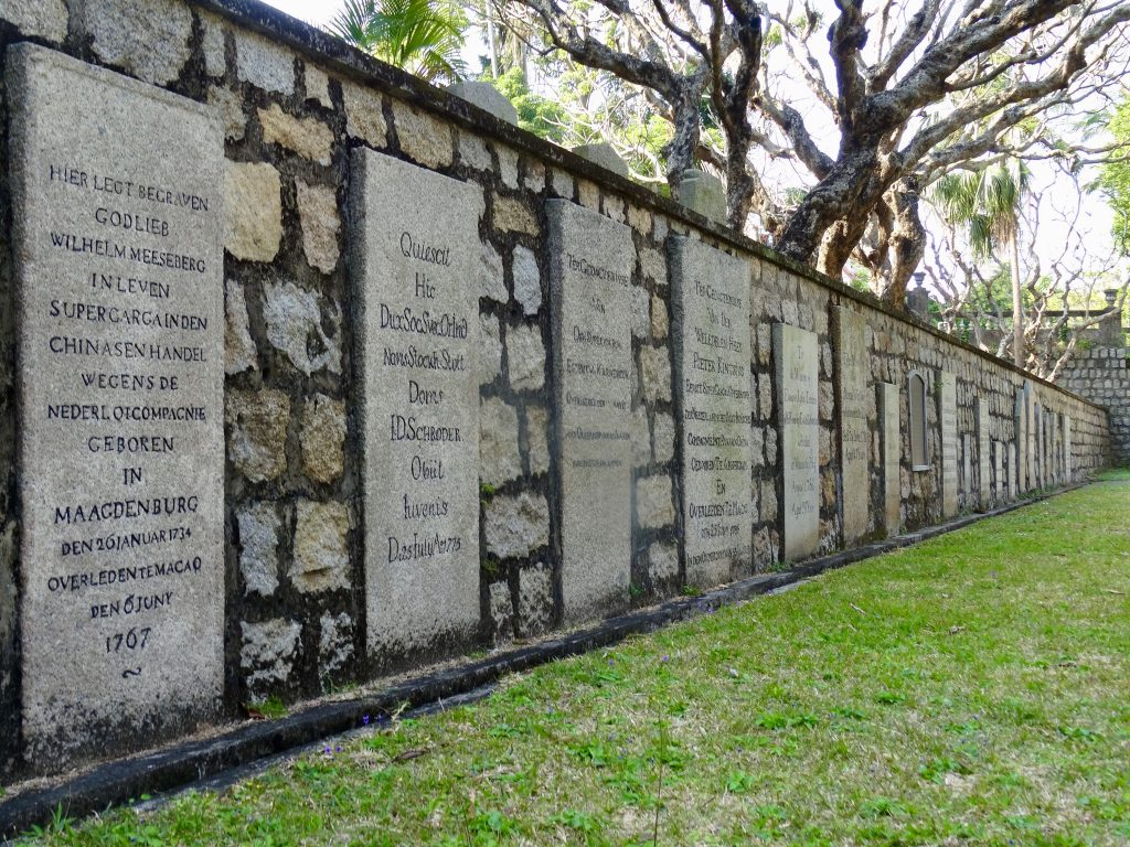 Macau Protestant Chapel and Cemetery.