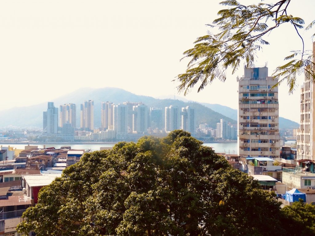 Macau views from Camoes Garden.