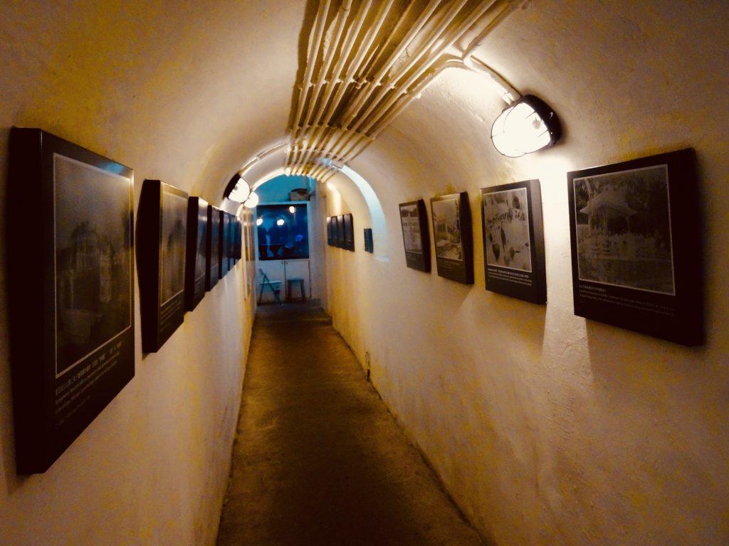 Military tunnels Guia Hill Fortress Macau.