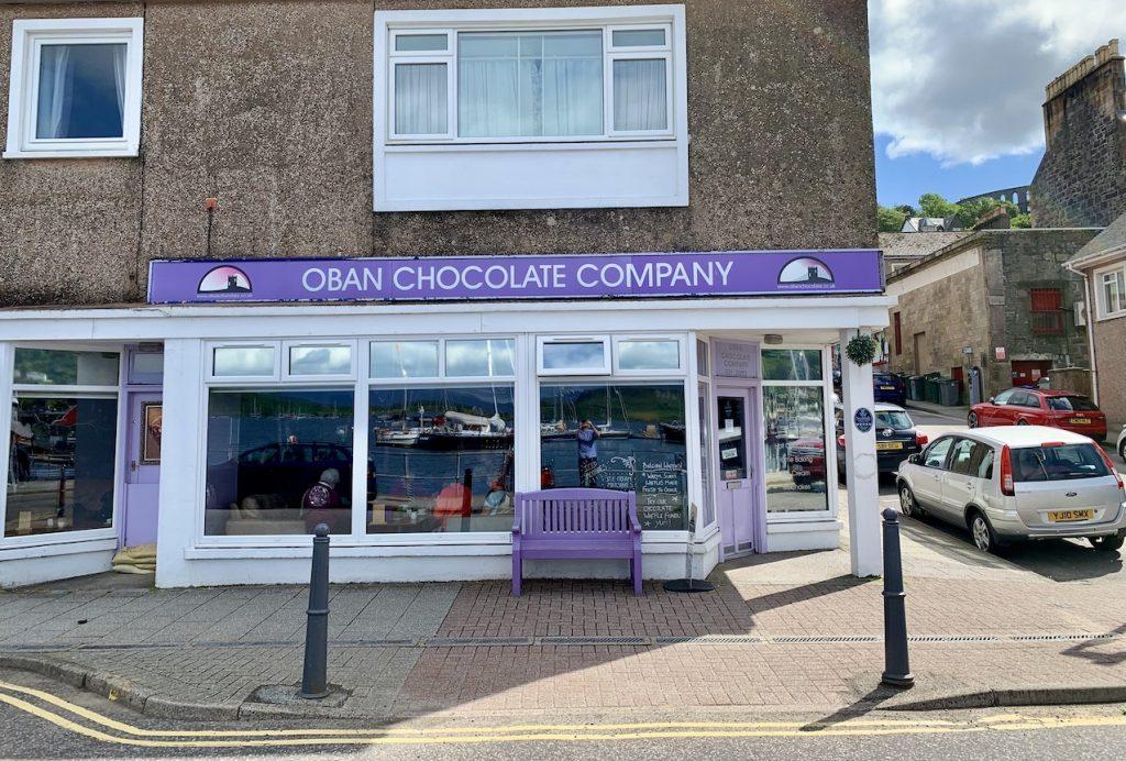 Oban Chocolate Company.