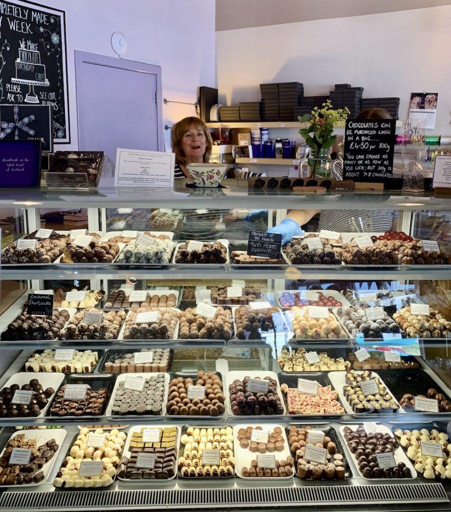 Oban Chocolate Company Scotland.