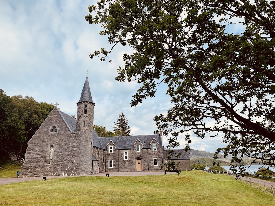 Our Lady of Perpetual Succour & St Cumin Morar Scotland.