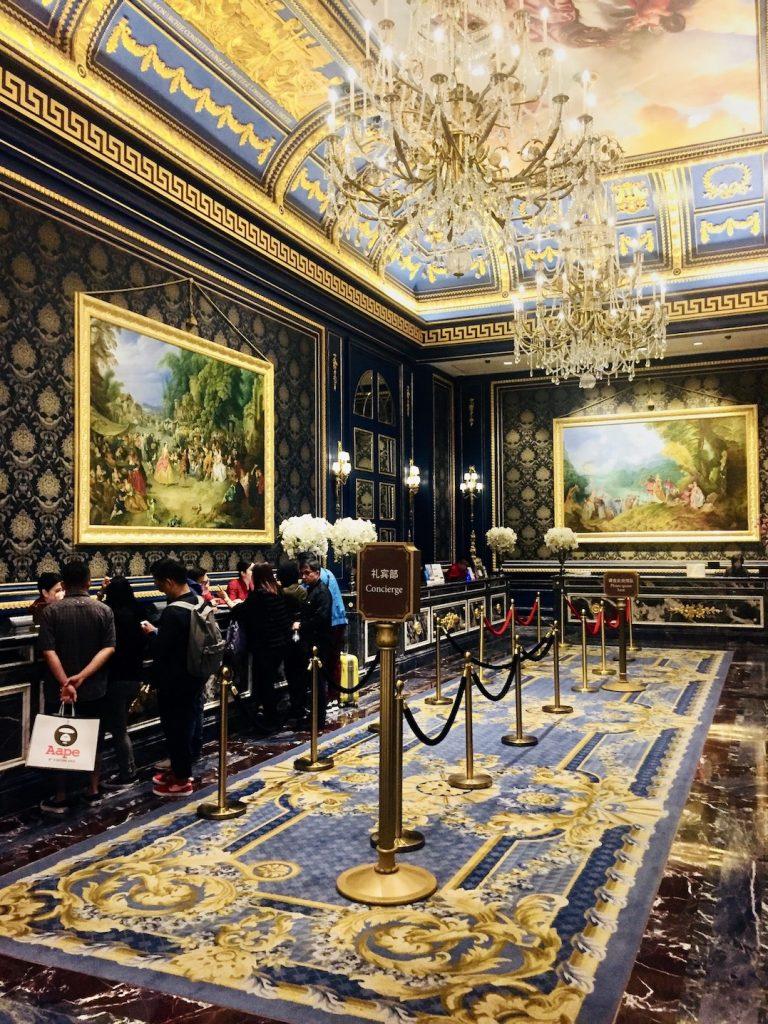 Reception The Parisian Macau.