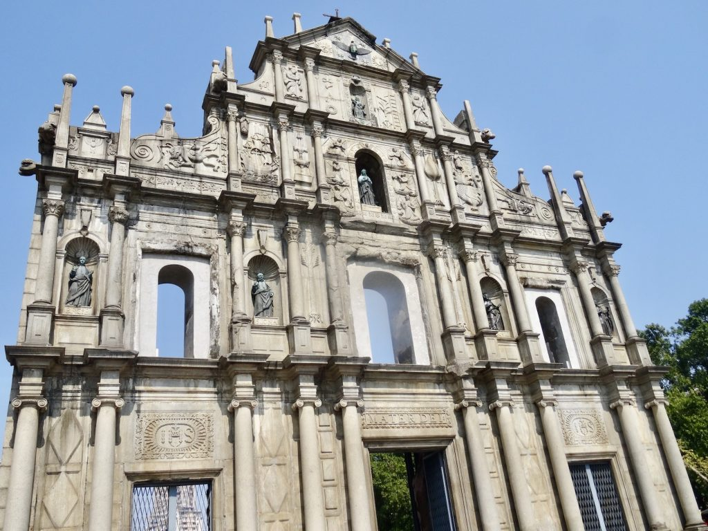 Saint Paul's Ruins Macau.