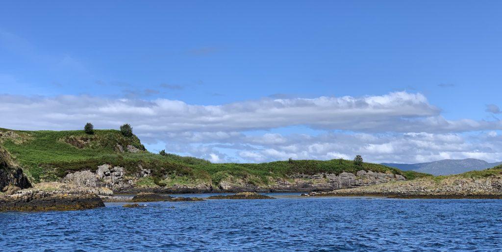 Seal watching Argyll Sea Tours Oban Scotland.