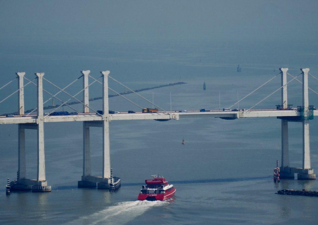 South China Sea from Guia Hill Fortress Macau.