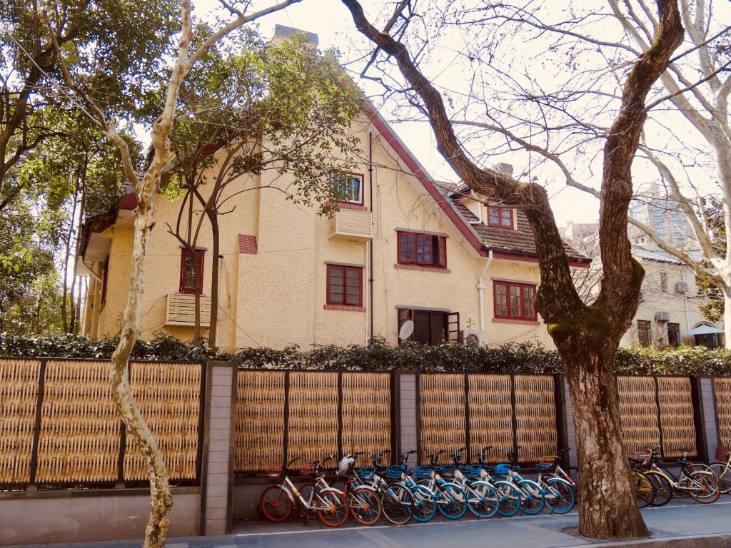 Spanish style residence Shanghai French Concession.