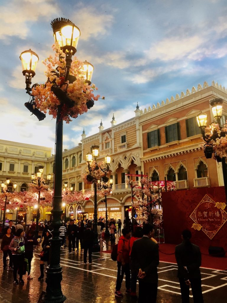 St Marks Square The Venetian Macau.