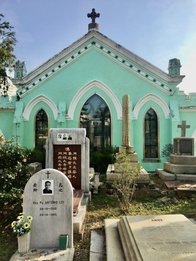 St Michael's Chapel & Cemetery Macau.