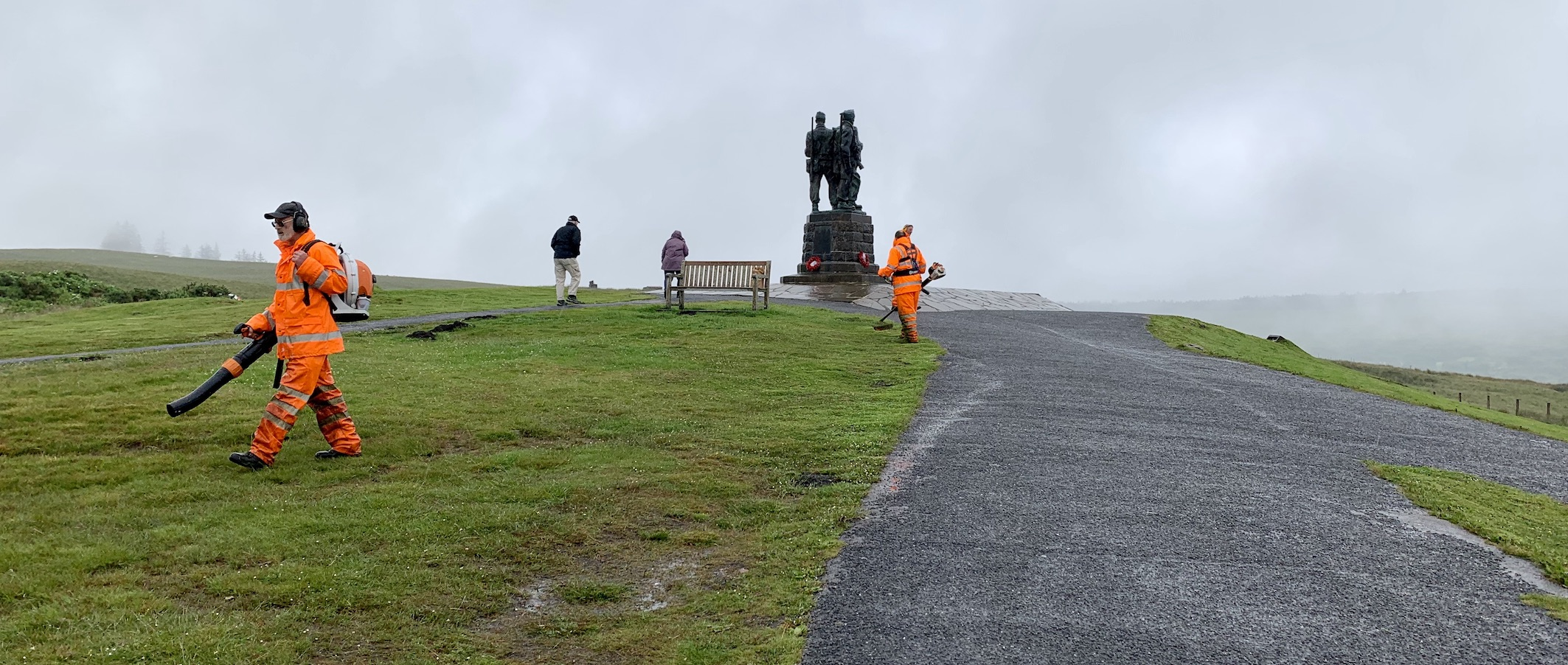 The Commando Memorial Scotland.